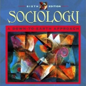 Accents - SOCIOLOGY - A DOWN TO EARTH APPROACH BOOK